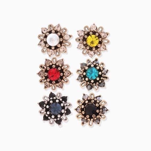 1046263 - <ER1460_CC18> [clip type] Chloe Mini Flower earrings