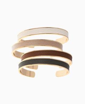 1046278 - <BC705_HB05> Leather bangle bracelet