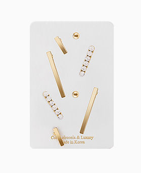 1046359 - <ER1510_CA08> [8Piece 1set] stick series earrings