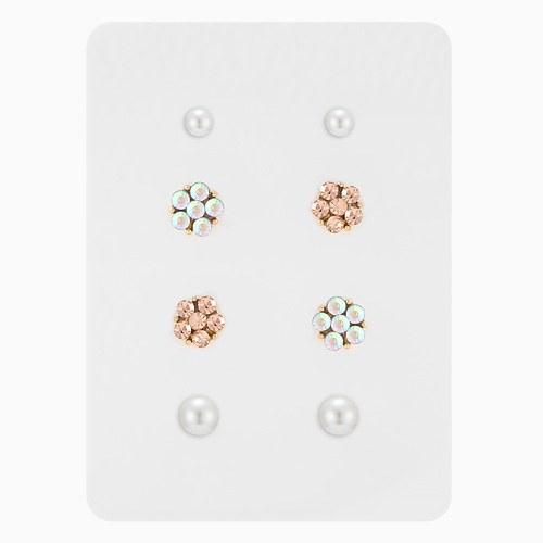 1046361 - <ER1419_CG16> [8Piece 1set] Mini Barrel Flower earrings