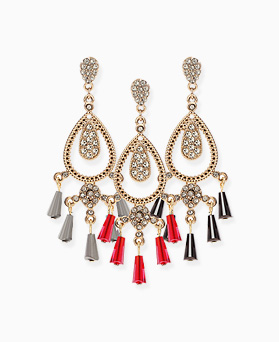 1046407 - <ER1433_CG21> Verte chandelier earrings