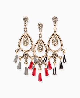 1046407 - <ER1433_CG21> Verte chandelier earrings