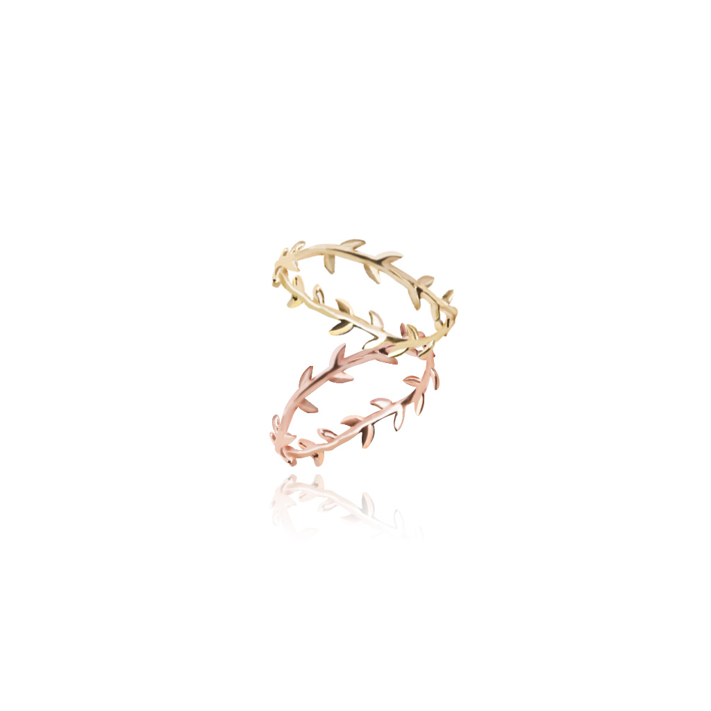 1046511 - <RI757_JF03> [Silver] Eve laurel tree ring