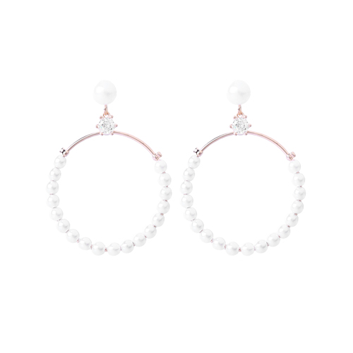 1046521 - <ER1552_GE06> [Silver Post] Talia pearl earrings