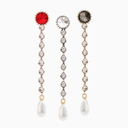 1046545 - <ER1535_CA07> [clip type] benevic cubic long earrings
