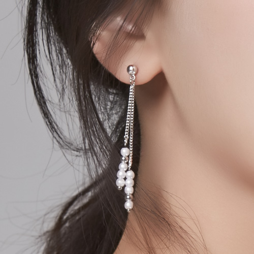 1046679 - <ER1578_GG08> Pritos pearl earrings