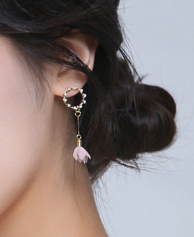1046694 - <ER1585_CA21> Merrill Flower earrings