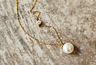 222478 - <SL107-S> [Sold Out Immediately] [Silver] pearl necklace