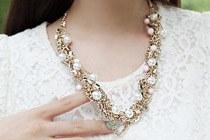 223260 - <JS060-IF04> [necklace + bracelet] Gold rush feminine set
