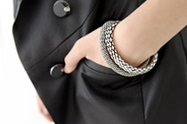 224246 - <BC001-HG24> Smoke bangle bracelet
