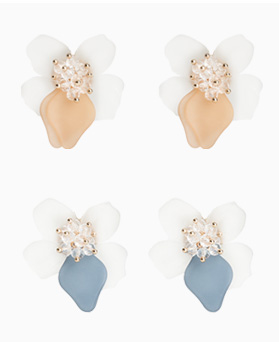 1046727 - <ER1602_CB22> Tino Flower earrings