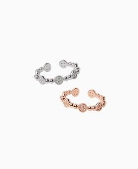 1046766 - <RI776_JA21> [Silver] Roland cubic ring