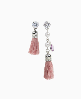 1046774 - <ER1616_CC05> Fisher tassel earrings