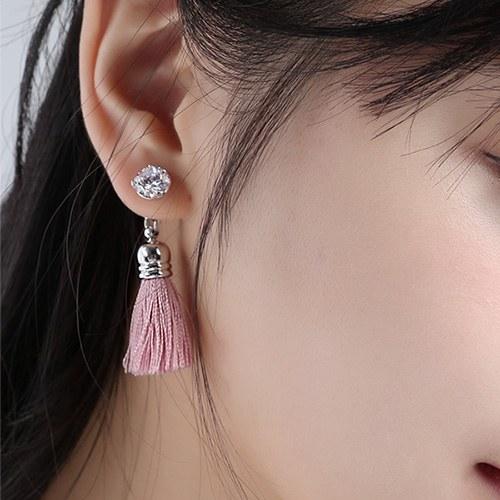 1046774 - <ER1616_CC05> Fisher tassel earrings