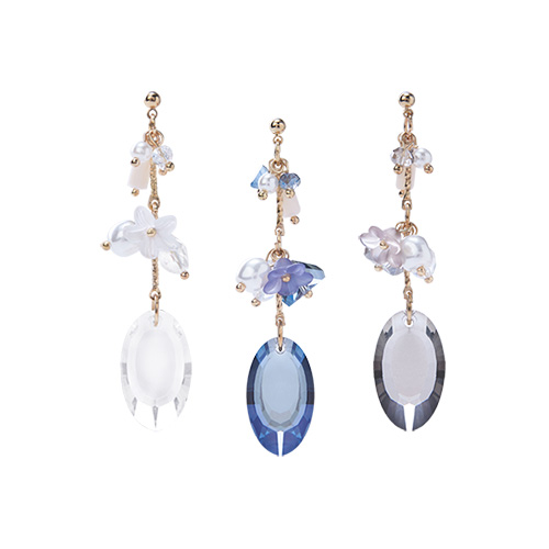 1046804 - <ER1570_CE07> [clip type] Erika cubic earrings