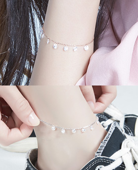 1046889 - <BC729_HB12> [bracelet + anklet] Isadora set