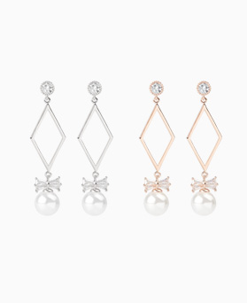 1046900 - <ER1634_DJ09> [clip type] camille pearl earrings