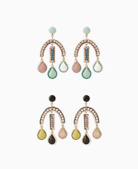 1046904 - <ER1633_CE13> [clip type] [handmade] Grande earrings