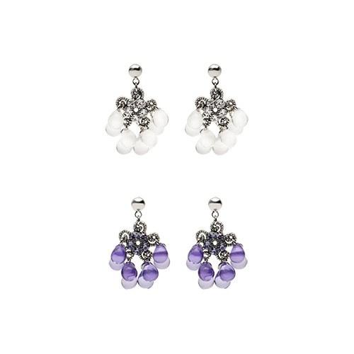 1046905 - <ER1628_CD09> [clip type] pearl earrings