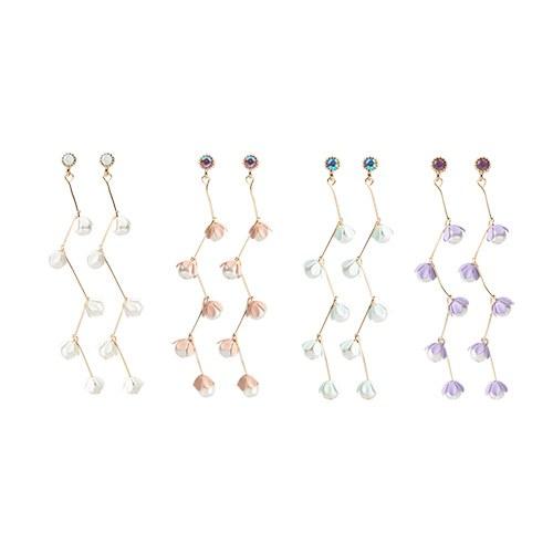 1046923 - <ER1650_CG14> [clip type] Celine di earrings