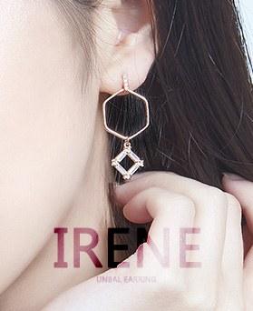 1046938 - <ER1661_DC10> [clip type] Irene Unbalanced earrings