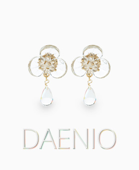 1046939 - <ER1658_CF14> [clip type] Danny oh earrings