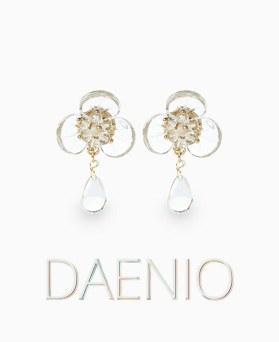 1046939 - <ER1658_CF14> [clip type] Danny oh earrings