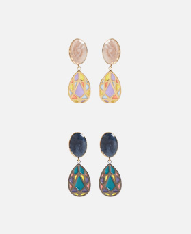 1046940 - <ER1662_CH06> [clip type] Viewan earrings