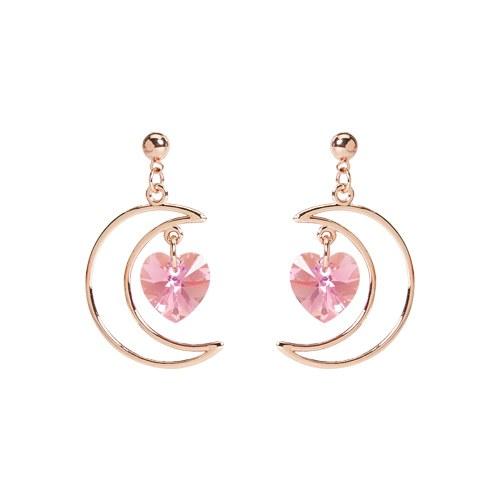 1046943 - <ER1671_DE13> Dine moon earrings