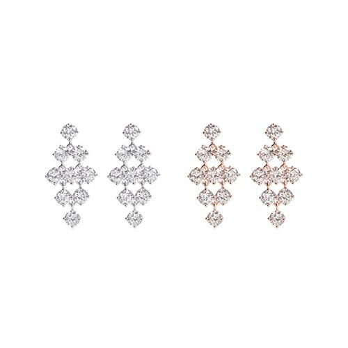 1046945 - <ER1667_DF10> [clip type] bel dora cubic earrings
