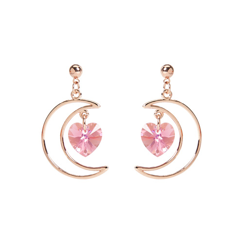 1046975 - <ER1671_DE13> [clip type] dyne moon earrings