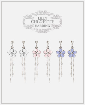 1046976 - <ER1677_DF12> [clip type] lily earrings