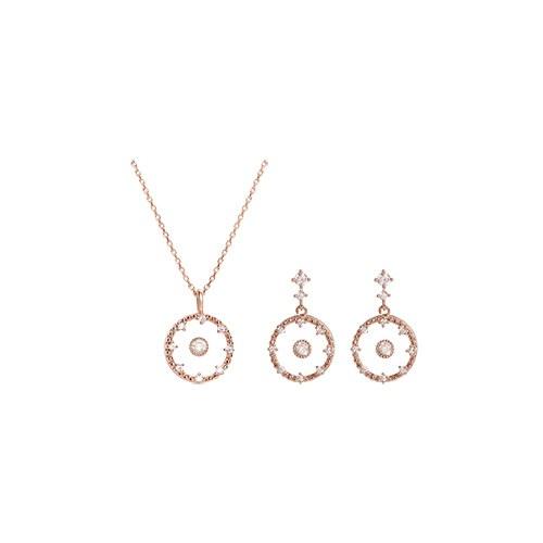 1046979 - <JS304_IF04> [earrings + necklace] Aaron di set