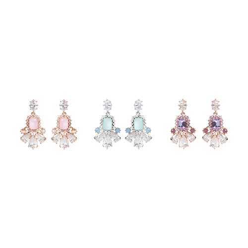 1047008 - <ER1681_CC14> [clip type] jennet cubic earrings