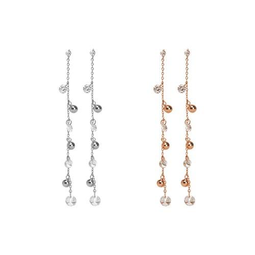 1047061 - <ER1704_DC16> [clip type] chico long earrings