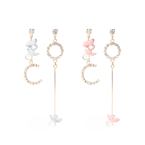 1046886 - <ER1655_DB14> Bryce Unbalanced Earrings