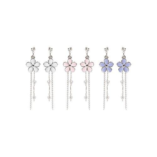 1046928 - <ER1677_DF12> lily chloat earrings
