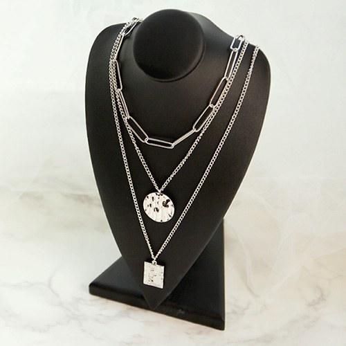 1047073 - <NE488_BC09> Platter necklace