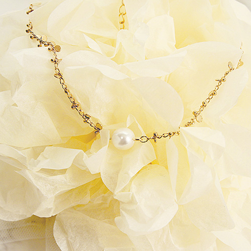 1047107 - <NE497_BB06> Pearl choker necklace