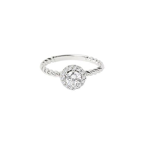 1046769 - <RI777_BE06> [Silver] Amber ring