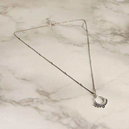 1047130 - <NE503_BD00> [Silver] antique necklace