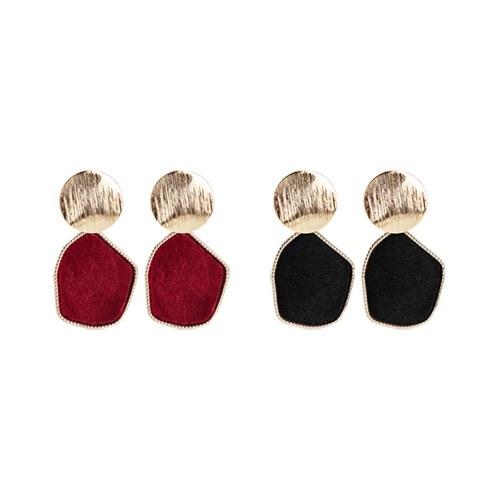 1047134 - <ER1766_CF13> Erio Velvet earrings