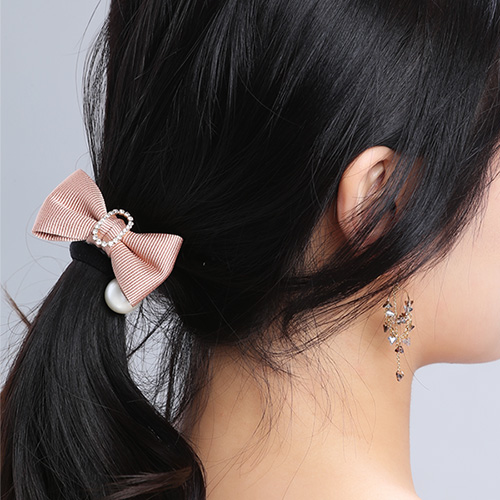 1046775 - <HA593_ED03> Isabella ribbon ponytail