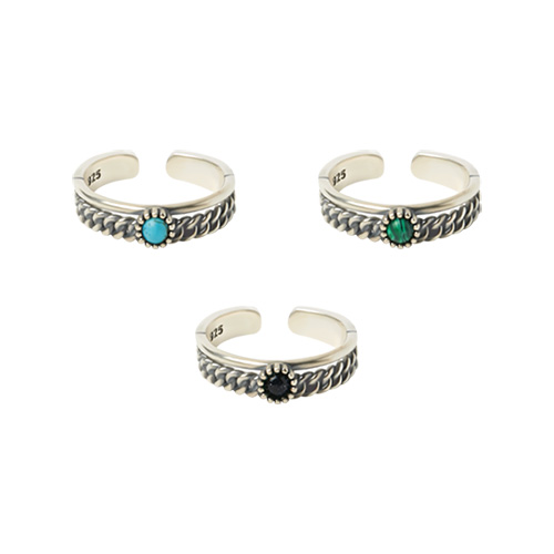 1046813 - <RI778_JC23> [Silver] Esprit ring