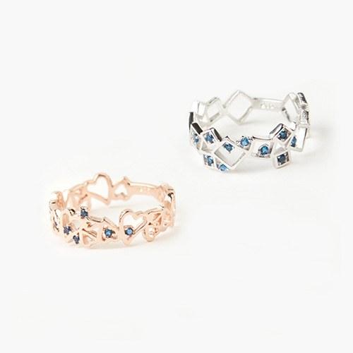 1046849 - <RI779_JC23> [Silver] Jade ring