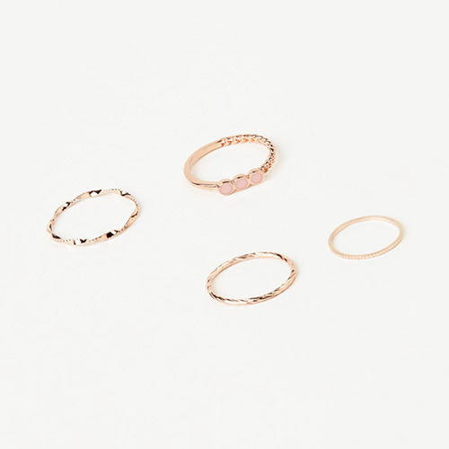 1046852 - <RI780_JC25> [4Piece 1set] Ariana ring