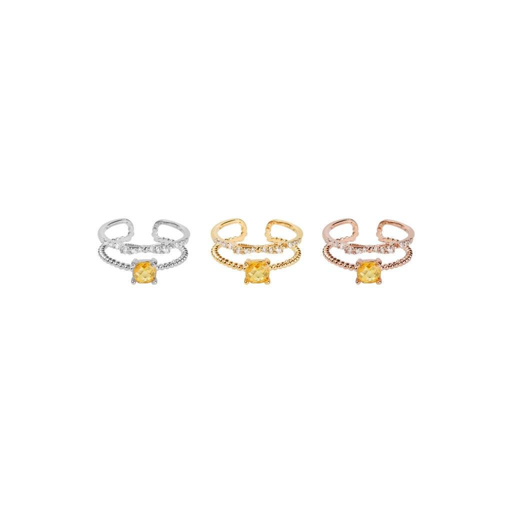 1046864 - <RI784_AD12> Schumer Topaz ring