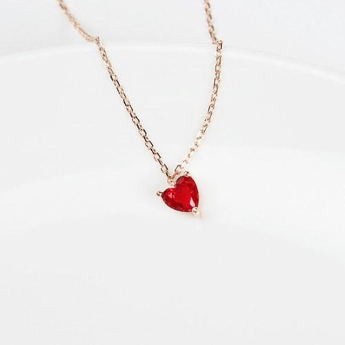 1046869 - <JS300_BE06> [Silver] Shabby heart bracelet