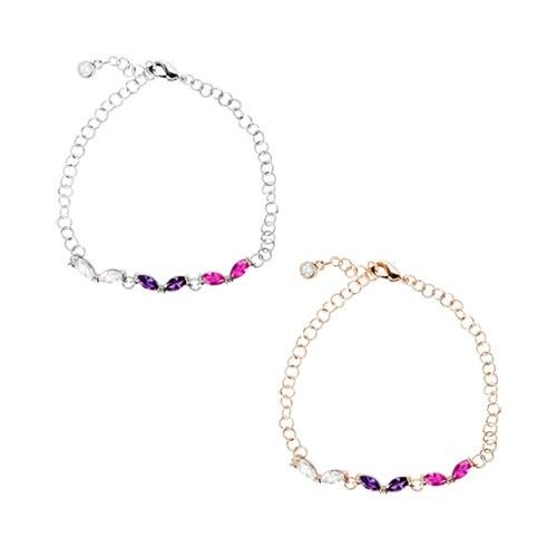 1046896 - <BC731_HD08> Claudia cubic bracelet