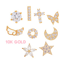 229849 - <K14J010-GL18> [10K Gold] sweet series earrings